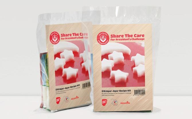 Red and White Agar Agar Kit