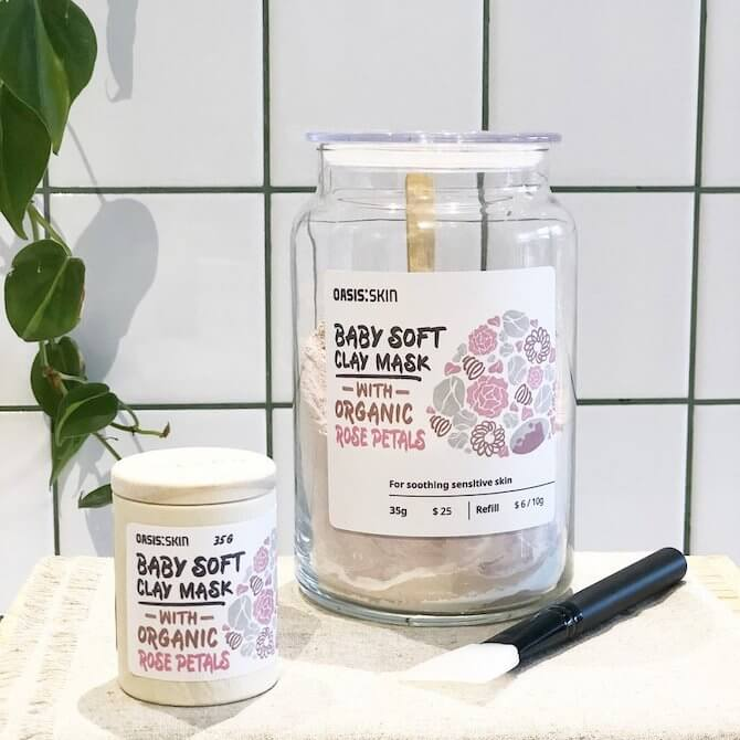 Oasis Skin Baby Soft Mask