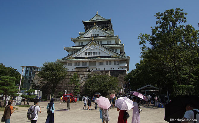 Approach to Osaka Castle