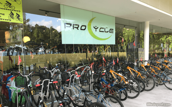 Pro Cycle, Parkland Green
