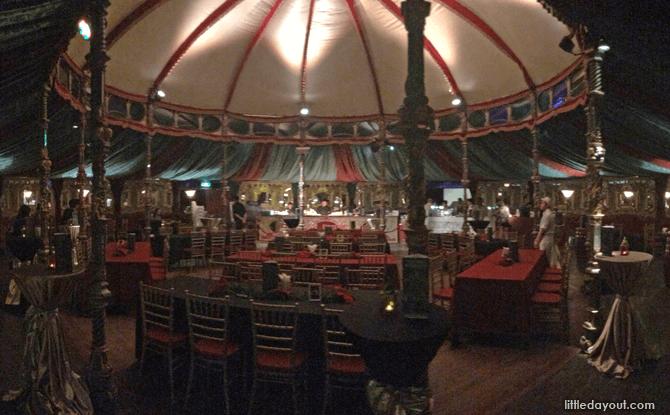 Spiegel Tent