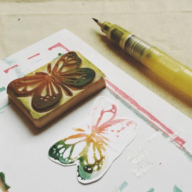 Stamp Making Workshops at SAFRA