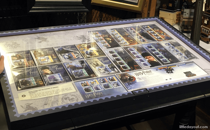 Harry Potter Stamps at Singapore Philatelic Museum