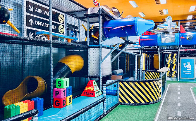 Take Flight At T-Play, HomeTeamNS Bukit Batok Indoor Playground
