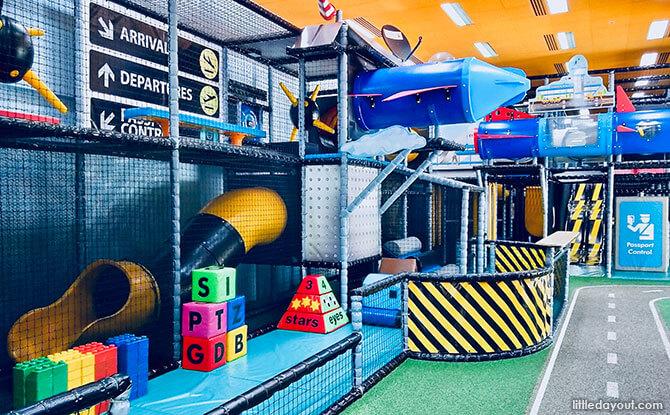 Take Flight At T-Play, HomeTeamNS Bukit Batok Indoor Playground
