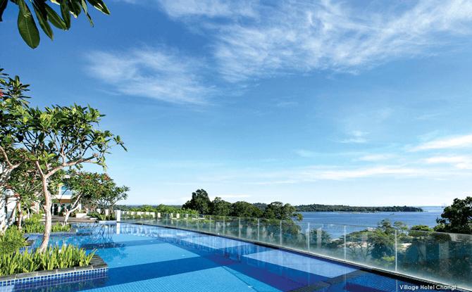 VILLAGE HOTEL CHANGI Infinity Pool