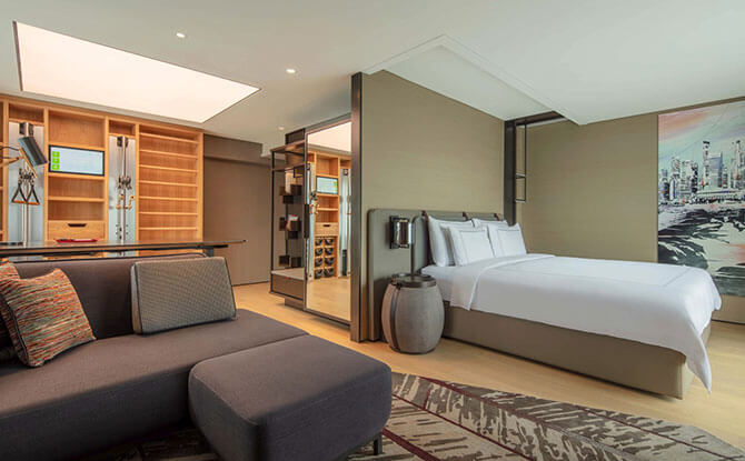 The Vitality Room is an oasis of serenity.