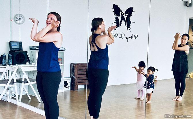 Wings to Wings Dance Class