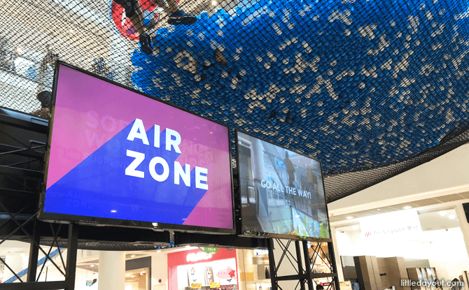 Airzone, net playground at City Square Mall