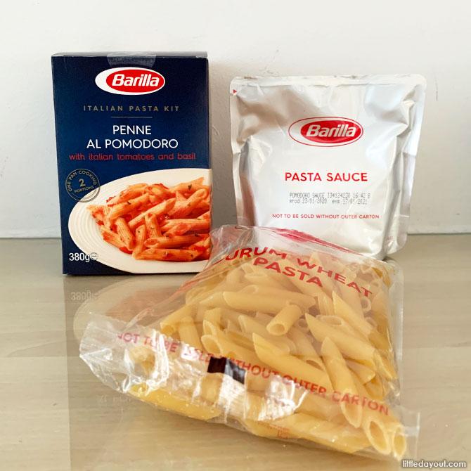 Inside the Pasta Kit
