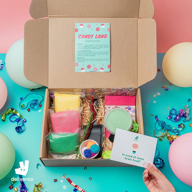 Brain Boxes: Deliveroo Collaboration with My Messy Box