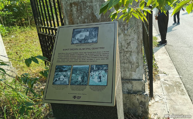 The Significance of Bukit Brown during World War II