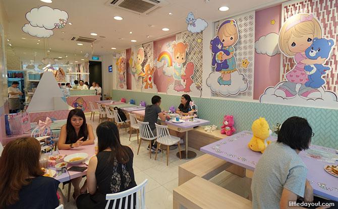 Care Bear Precious Moments Cafe Singapore