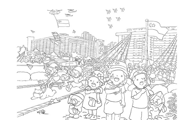 NDP2020 Colouring Activity