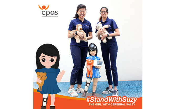 #StandWithSuzy: Help Raise Awareness About Cerebral Palsy By Taking A Picture With Your Favourite Soft Toy