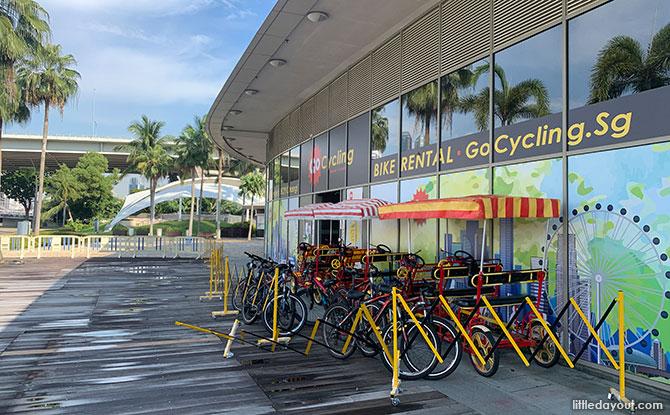 GoCycling @ Marina Bay: Rent a Bike at Singapore Flyer