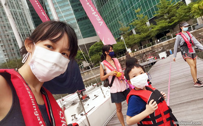 Going Boating at Marina Bay