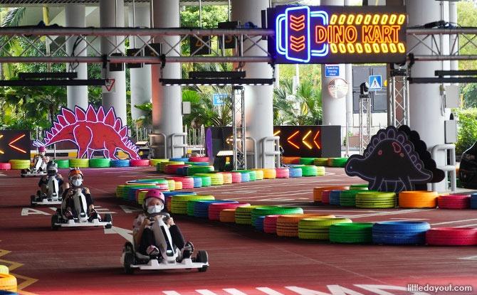Novice track - Dino Go Kart Changi Airport