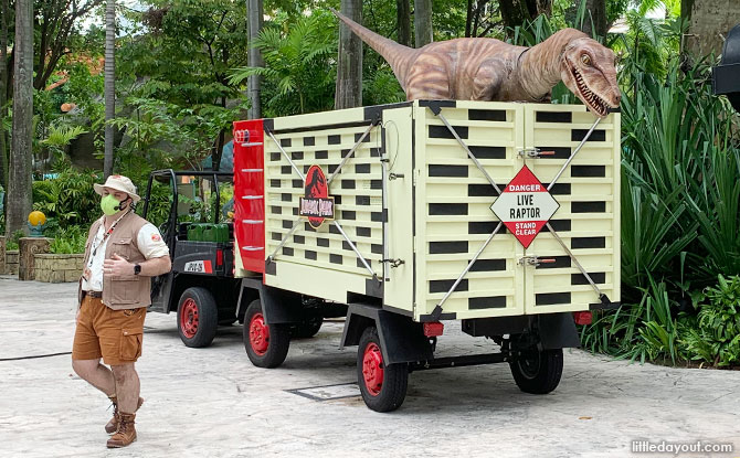Dinosaurs in Singapore - The Lost World, Universal Studios Singapore