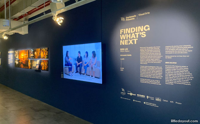 Visiting the Finding What's Next Exhibition