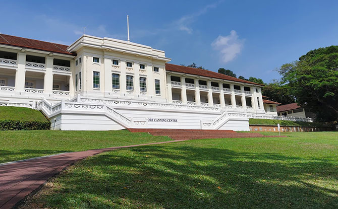 Adventure at Fort Canning Park