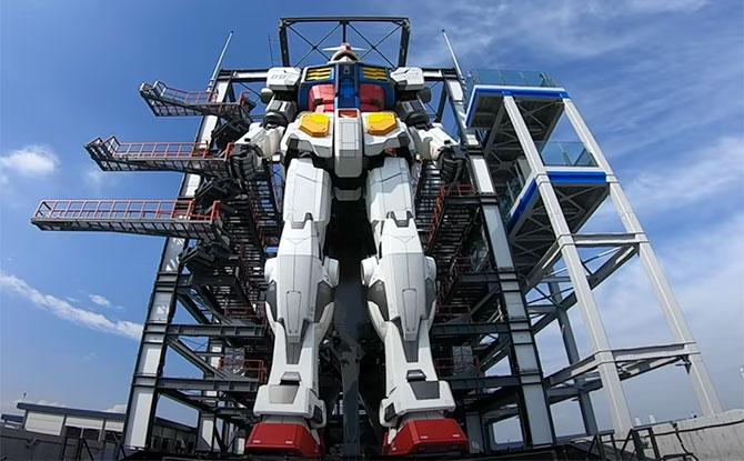 Moving Gundam At Yokohama's Gundam Factory Set To Open In December 2020