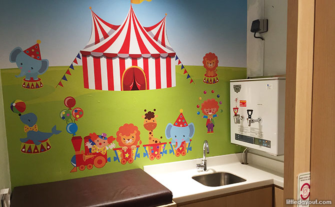 Hillion Diaper Changing Room