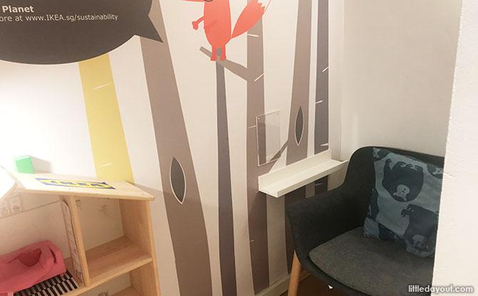 Ikea Tampines Nursing Area