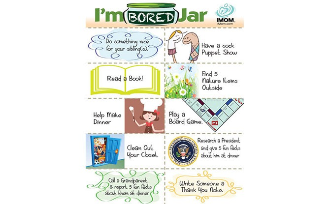 I'm Bored Jar