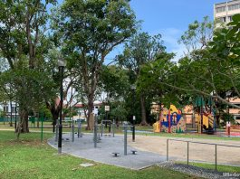 Jalan Pelatok Park: Open Space With Playground At The Fringe Of Simei
