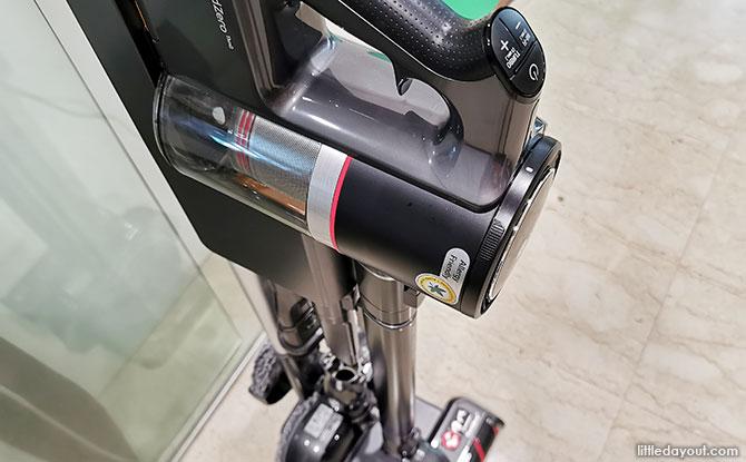 Overview of LG CordZero A9 Kompressor Vacuum Cleaner