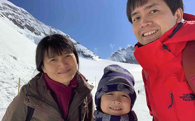 Visit to Switzerland