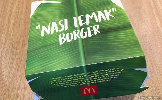 McDonald's Nasi Lemak Burger 2019 Review