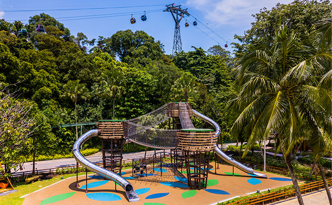 Nestopia, Siloso Beach, Sentosa
