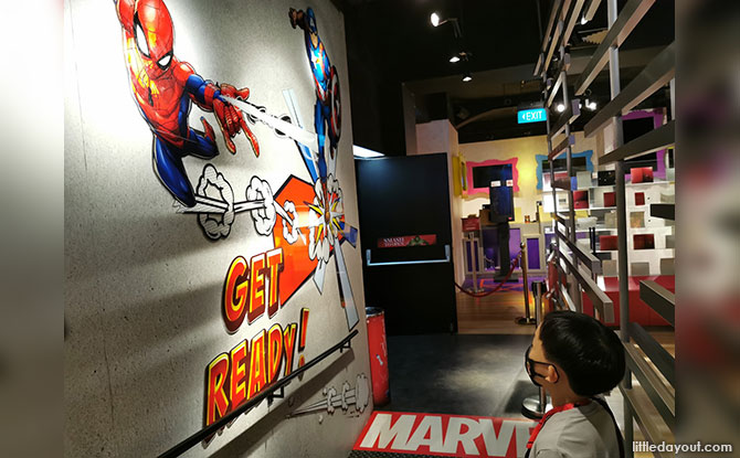 Marvel Universe 4D Movie Experience at Madame Tussauds Singapore Review