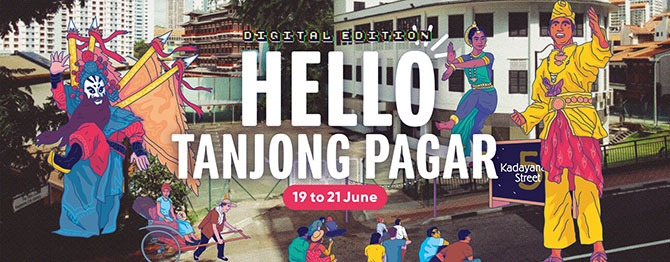 Singapore Heritage Festival 2020: Explore Colourful Histories of Three Neighbourhoods: Tanjong Pagar, Kallang and Pasir Ris