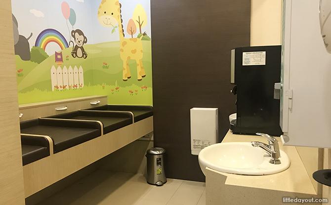 nursing room at terminal 2