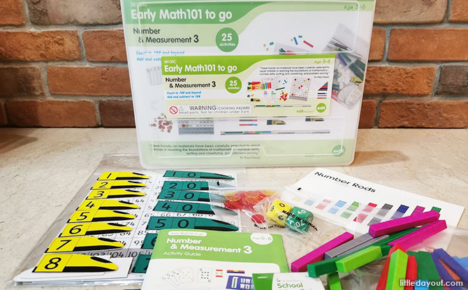 Math Can Be Fun, Thanks to Tickle Your Senses Early Math Kit