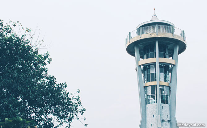 Rocket Tower at Upper Seletar Reservoir Park