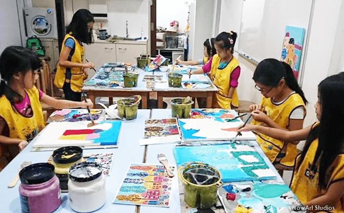 Wow Art Students
