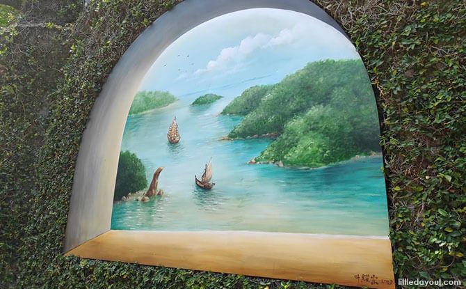 Yip Yew Chong Murals at Sentosa