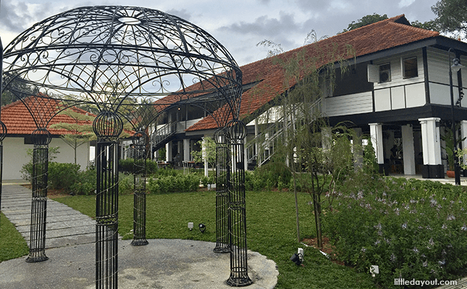 Colonial Bungalow Grounds at The Oval, near Seletar Aiport