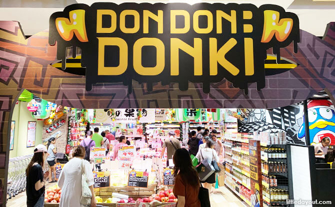 Don Don Donki JCube: Sushi Bar, Takoyaki And Food Court