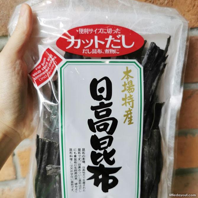 What is Kombu? A type of Seaweed
