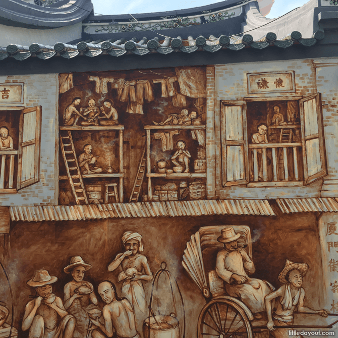Early Singapore, Scenes from the Thian Hock Keng Mural