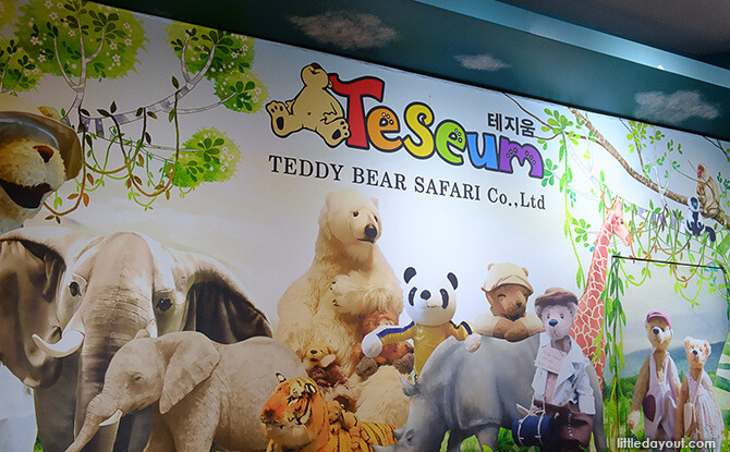 Teseum, Teddy Bear Safari Theme Park in Jeju Island