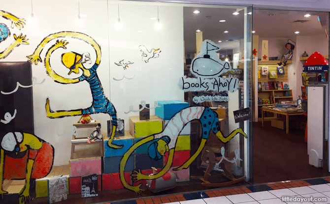 Children's Bookstores in Singapore: Books Ahoy