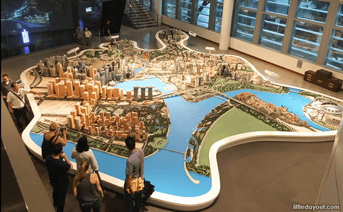 CBD Model at Singapore City Gallery