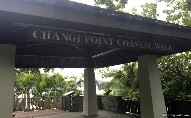 Entry Point into Changi Point Coastal Walk