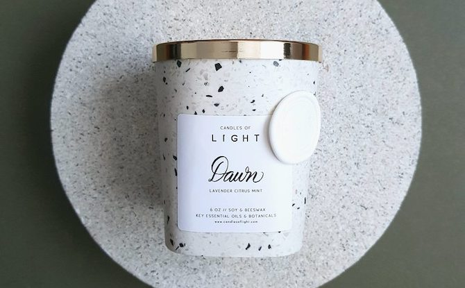 e03 Candles of Light Dawn Candle